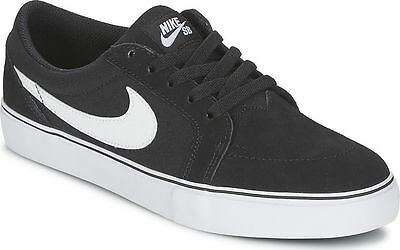 Nike Men S Sb Satire Ii 729809 001 Black White Sneakers Size 13 Ebay