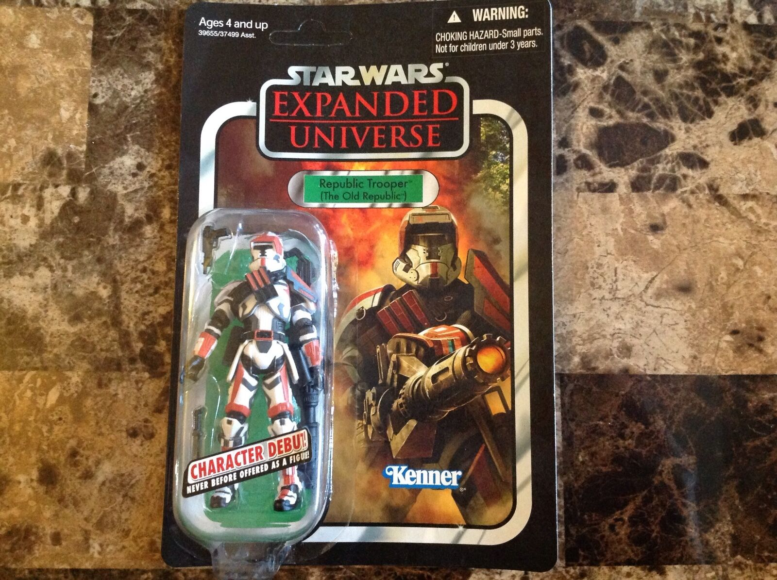 Star Wars Action Figure  Expanded Universe  Republic Trooper (The Old Republic)