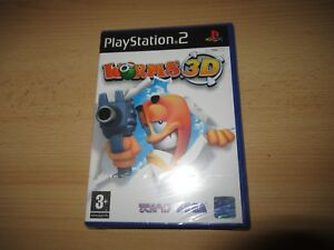 LOMBRICES-3d-SONY-PLAYSTATION-2-PS2-PAL-Reino-Unido-NUEVO-PRECINTADO