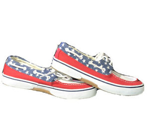 Mens Sperry Top Sider Canvas American
