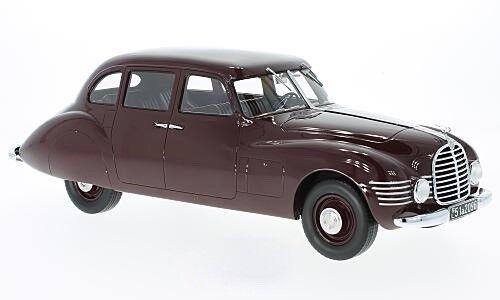 Horch 930 S Stromlinienlimousine 1948 - dunkelrot -  1 18 CMF    NEW<<  | Ideales Geschenk für alle Gelegenheiten