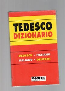 Diizionario-tedesco-deutsh-italiano-italiano-deutsch-modern-publishing-house