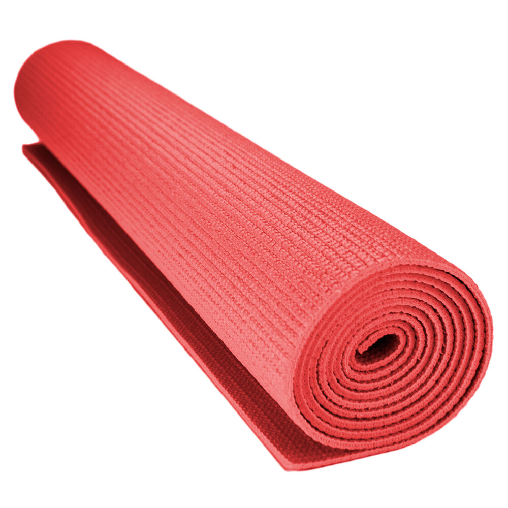 Foam Yoga Pilates Workout Mat 1 8 Inch 3mm With No Slip Texture For Sale Online