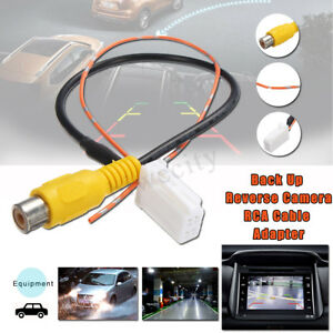 4-Pin-Male-Connector-Radio-Back-Up-Reverse-Camera-RCA-Cable-Adapter-For-Toyota