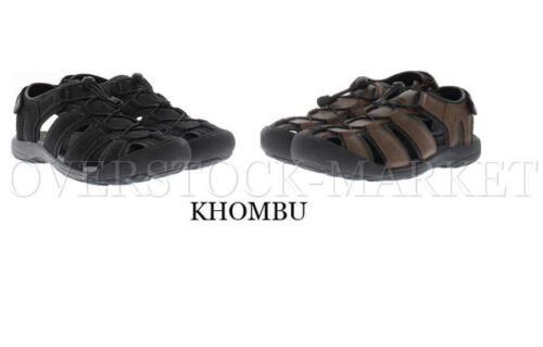 """ADJUSTABLE NEW VARIETY! COMFORT FOOTBED MEN/'S KHOMBU /""""TRAVIS/"""" ACTIVE SANDAL"""
