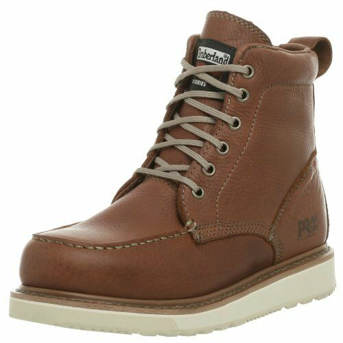 2308af0c025 Timberland Pro Mens 53009 Wedge Sole 6 Soft-toe Boot Rust 10 W Tax for sale  online