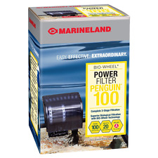 Marineland Penguin Power Aquarium Filter, 10 to 20-Gallon, 100 GPH, Fish Tank.