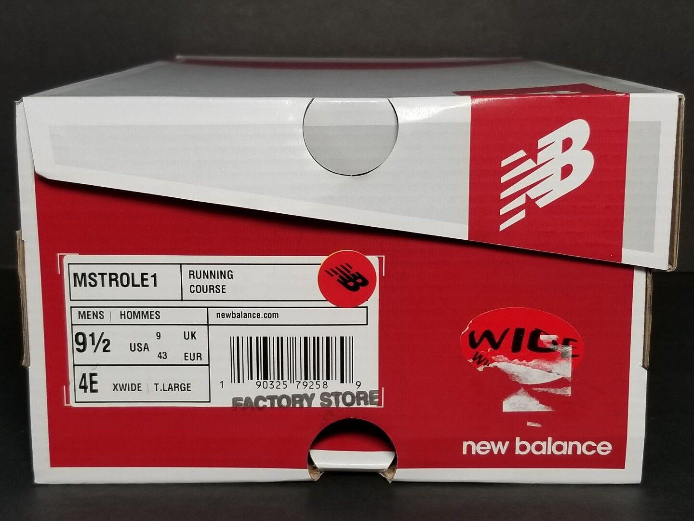 NEW BALANCE MEN'S   W I D E   RUNNING SHOES MULTIPLE SIZES  NEW / BOX  MSTROLE1