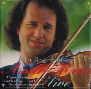 ANDRE-RIEU-Het-Beste-Van-Andre-Rieu-Live-LIKE-NEW-viool-instrumental-Original-CD