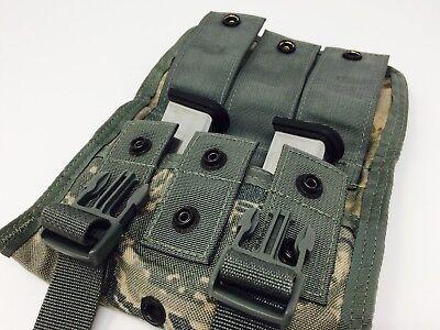 *Double MOLLE II Digital Camo 9MM 45cal Pistol MAG POUCH  USGI NEW