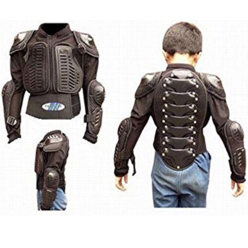 PROTEZIONI Per Bambini Giacca carri armati al Seno S/M L MX Safety Jacket taglia xs-2xl