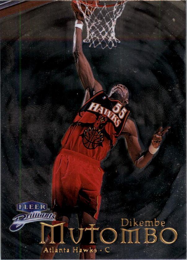 1998-99 Fleer Brilliants Basketball (Pick From List)