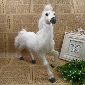 simulation brown horse toy polyethylene/&furs horse model doll 20x18cm