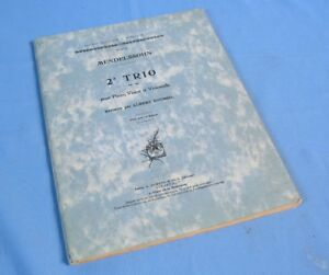 2eme-TRIO-de-MENDELSSOHN-Op66-Partitions-Piano-Violon-Violoncelle