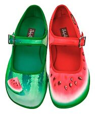 Hot Chocolate Design. Chocolaticas Patilla/ Watermelon. US 7. Women shoes