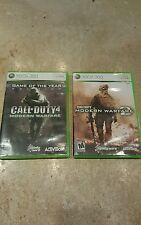 Call of Duty Modern Warfare 1 & Modern Warfare 2 **Free Xbox Live Gold trial**
