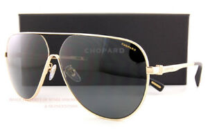 3c25958ac86 Brand New Chopard Sunglasses SCH C30 300W Gold Gray For Men Women ...