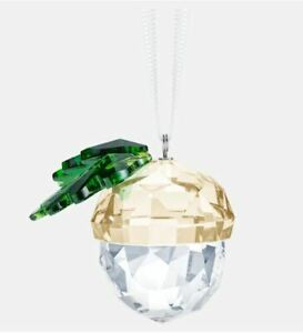 Swarovski-Crystal-Creation-5464870-ACORN-ORNAMENT-RRP-99