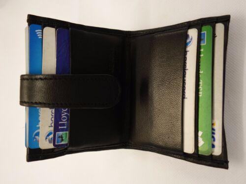Soft Sheep Skin Leather Slim Credit Card//Business Card Holder for 12 Cards