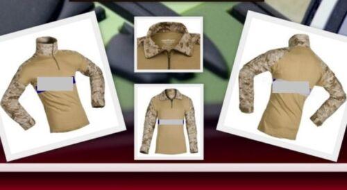 Invader Gear Militär BW Kommando Combat Shirt Ripstop Marpat digital desert