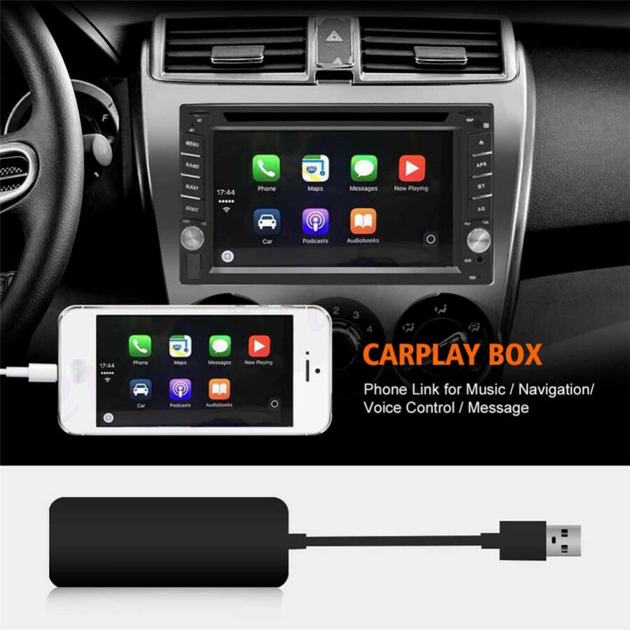 Plug&play Universal Car USB Apple CarPlay Dongle for iPhone Android WinCE  System