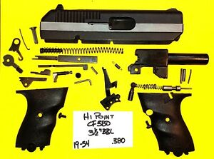 Details about HI POINT CF 380 IN 380 ALL PARTS PICTURED PEEP SIGHTS ALL 4  ONE PRICE 19-54