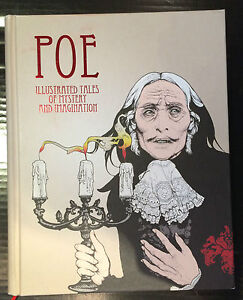 Poe-Illustrated-Tales-of-Mystery-and-Imagination-Hardcover-Book-9783899551594
