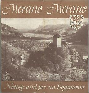 Merano Azienda Autonoma di Soggiorno e Cura anni 60 - Trentino Alto ...