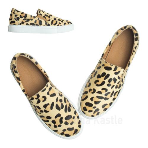 stampa con donna Sneakers di pelle leopardata da Annakastle in vitello wqYqZx0P5