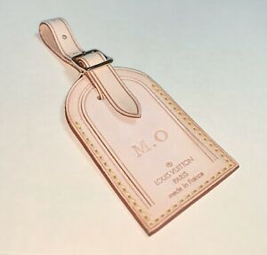 100-Authentic-Louis-Vuitton-w-MO-initials-Large-Name-ID-Tag