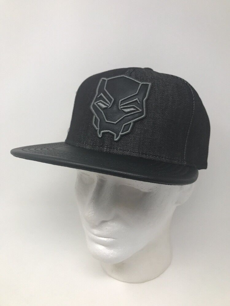 Marvel One Black Panther Snapback Hat One Marvel Size Fits Most f36d5a
