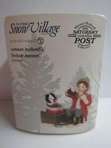 Dept 56 Snow Village Norman Rockwell's Bedside Manner 6003144 MIP