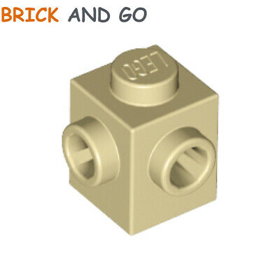 LEGO® Tan Brick 1 x 1 with Studs on 2 Sides Modified Part 26604