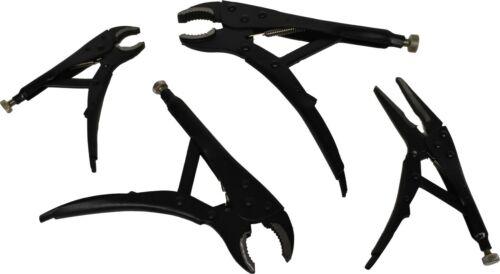 4pc Verrouillage Grip Pince Set TAUPE Grips pinces courbes et droites Jaws 5848