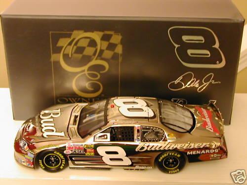 2007 Dale Earnhardt Jr Budweiser 1 24 WHITE gold Elite