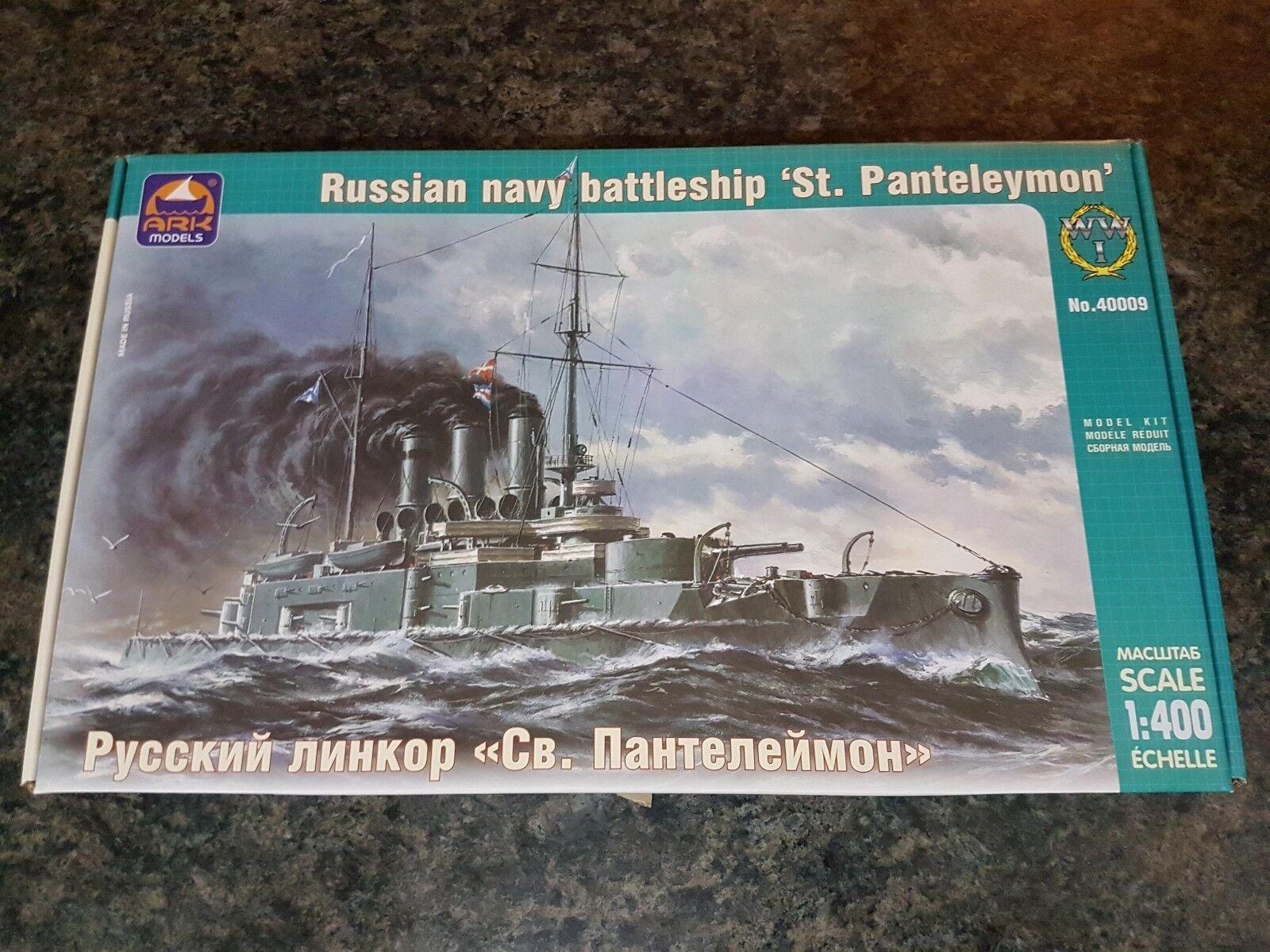 Ark Models 1 400 Russian Navy Battleship St Panteleymon Great Condition Rare
