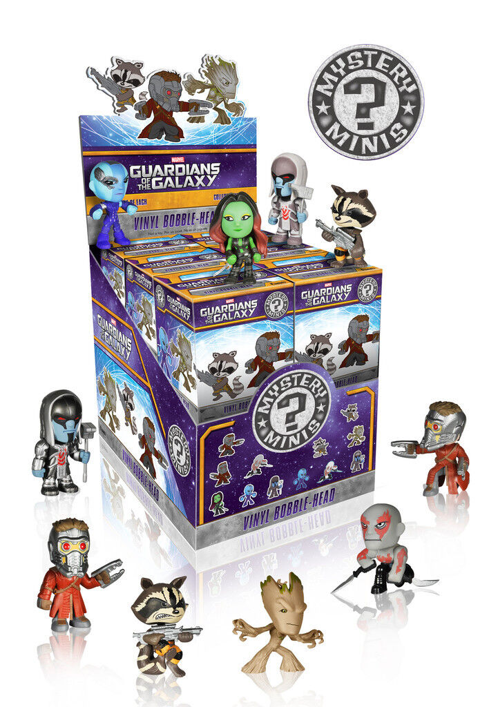 GUARDIANS OF THE GALAXY Mystery Mini Blind Box 2.5