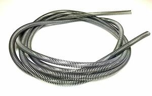 3//16 Brake Line Tube Spring Wrap Armor Guard Tubing Protectant Stainless 16FT SS