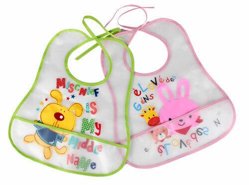 12pcs de bébé bavoirs Essuyez