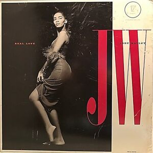 "JODY WATLEY ""Real Love"" Vinyl 12"" Single - 1989 MCA-23928 VG+ / VG+"