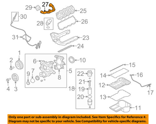 FORD OEM 08-10 E-350 Super Duty 6.0L-V8 Engine-Oil Filler Tube 4C2Z6763AA