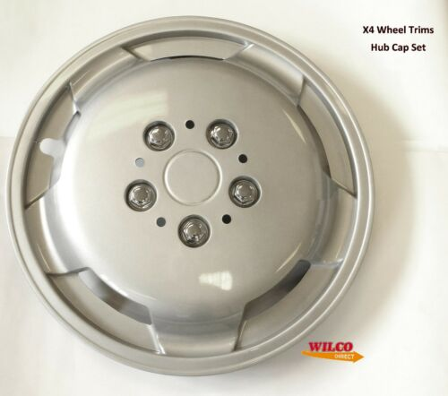 """15/"""" Inch Wheel Trims Hub Caps For Fiat Ducato Ford Transit Van with R15 Wheels"""