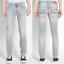 Nudie-Herren-Slim-Fit-Stretch-Jeans-Hose-Thin-Finn-Blau-Schwarz-B-Ware-NEU Indexbild 9