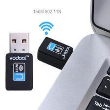 VODOOL 150M Mini USB Wifi Wireless Lan Internet Receiver Adapter For Laptop PC