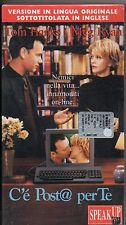 C'E' POSTA PER TE VHS sealed TOM HANKS MEG RYAN versione in lingua originale