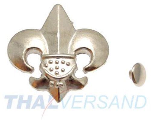 100 Stück Ziernieten Ornament #52 Motivnieten Ledernieten Zierniete Motivniete