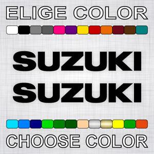 PEGATINAS-SUZUKI-X2-vinilos-coche-autocollant-aufkleber-adesivi-sticker-auto-car