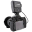 miniatura 4 - Meike FC-100 FC100 Manual LED Macro Ring Flash Light with 7 Adapter Ring for Can