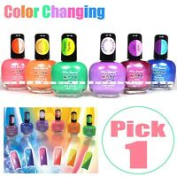 Green To Yellow Mia Mood Color Changing Nail Polish (sun As The Best Conductor)