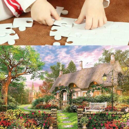 1000 piece England Cottage Jigsaw Puzzle Puzzles Adults Learning Education UK